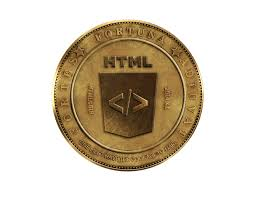 html coin information image