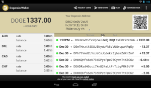 android wallet for Dogecoin image