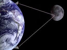 ham radio moon bounce image